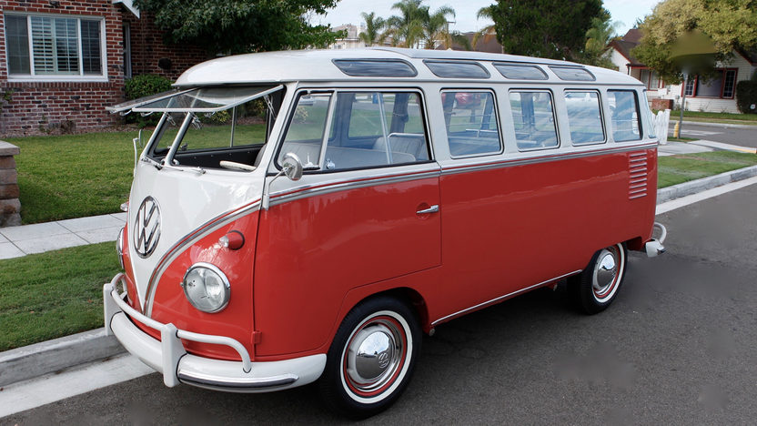 "1959 Volkswagen Samba ""Woods Find"" is Expected to Break Auction Records"