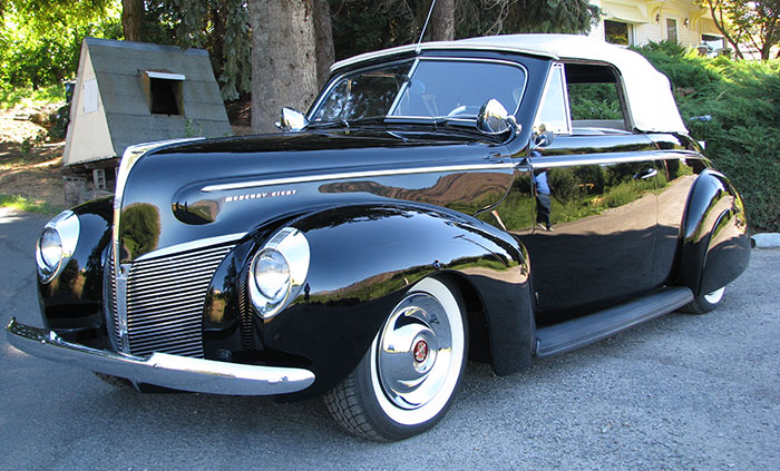​The Incredible Journey of a 1940 Mercury and the Man Who Loved It